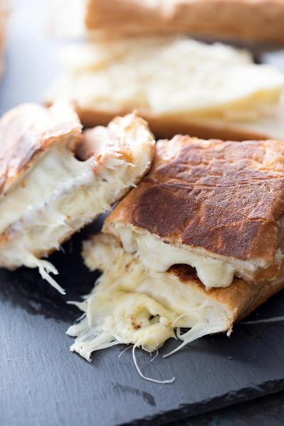Fondue Cheese Panini Sandwiches Picture