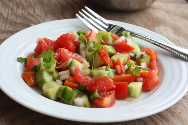 Cucumber Tomato Salad Photo