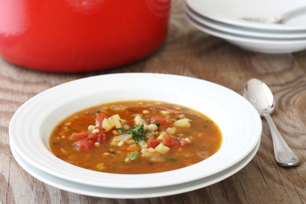 Vegetable Barley Soup Picture