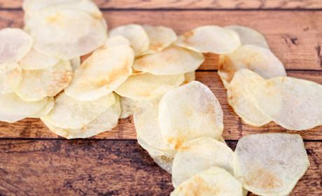 Homemade Lay's Potato Chips