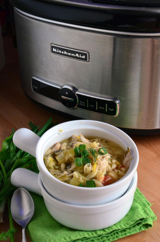 Lemon Chicken Orzo Soup Picture