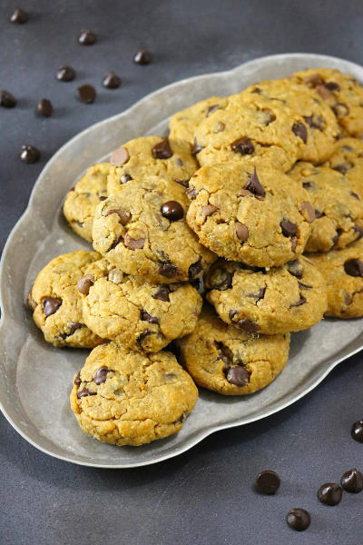 Gluten Free Chocolate Chip Peanut Butter Cookies Image