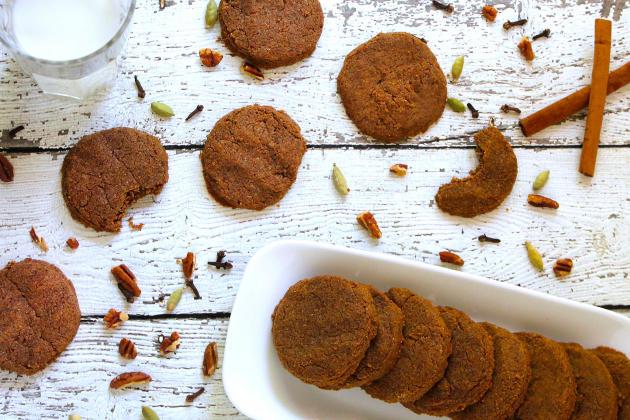 Gluten Free Spiced Pecan Cookies Photo