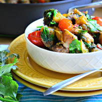 One Pot Italian Sausage Skillet Recipe