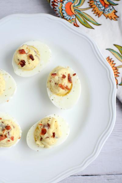 Paleo Deviled Eggs Image