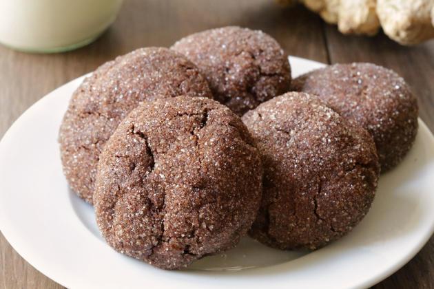 Gluten Free Chocolate Ginger Cookies Photo