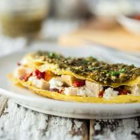 Pesto Omelet Recipe