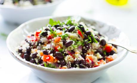 Black Bean Couscous Salad Image
