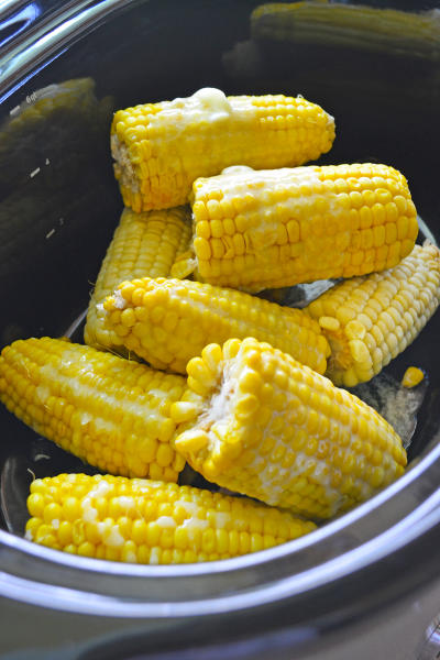 Slow Cooker Corn on the Cob Picture