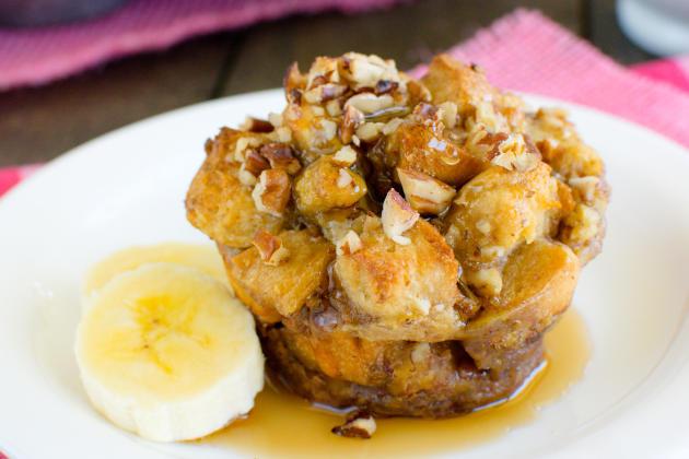 Banana Praline French Toast Muffins Photo
