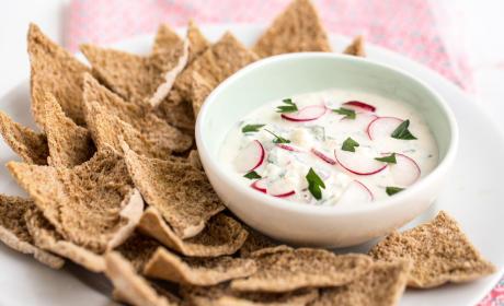 Feta Radish Dip: A Unique Spring Appetizer