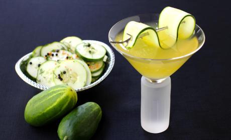 Cucumber Gin Martini Recipe