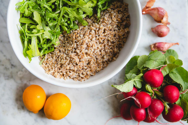 Farro Arugula Salad Photo