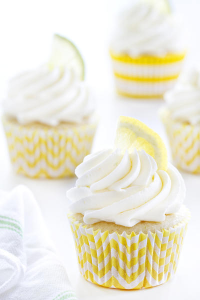 Lemon Lime Cupcakes Image
