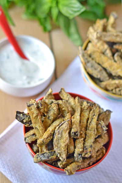 Eggplant Fries Picture
