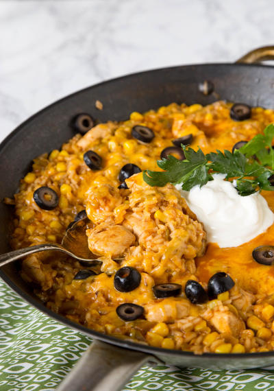 One Pan Southwest Chicken and Rice Image
