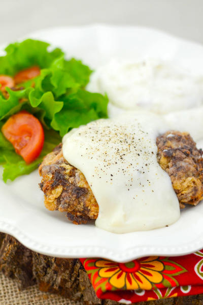 Gluten Free Chicken Fried Steak Picture