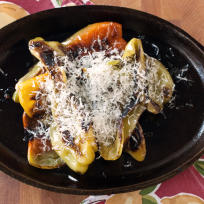 Charred Peppers with Parmesan Recipe