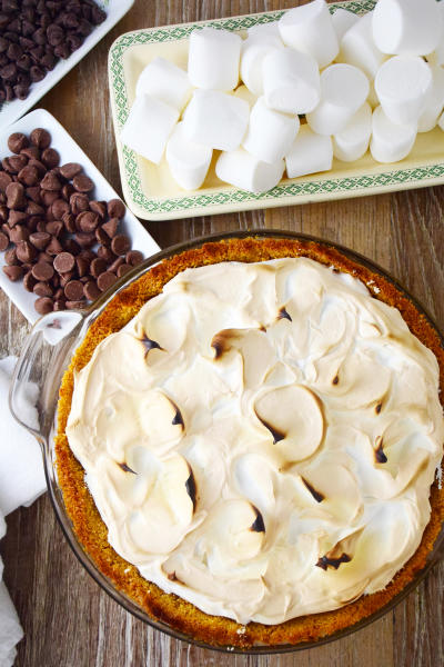 S'mores Pie Image