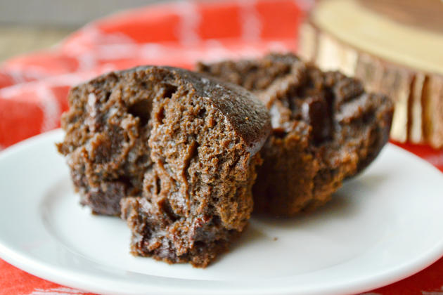 Double Chocolate Ginger Muffins Pic