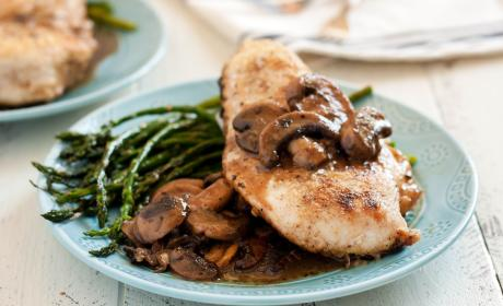 Gluten Free Chicken Marsala with Mushrooms