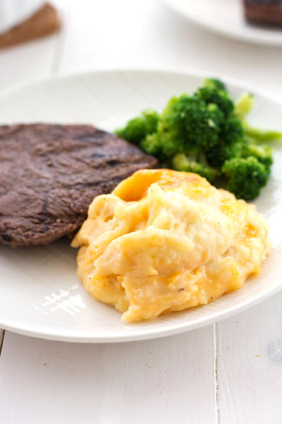 Cheesy Mashed Potato Casserole Image