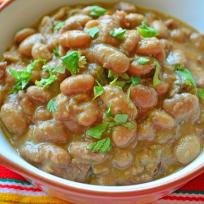 Slow Cooker Ranchero Beans Recipe