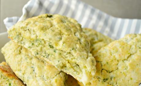 Spinach Feta Scones Recipe