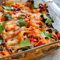 Vegetable Enchilada Recipe