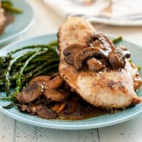 Gluten Free Chicken Marsala with Mushrooms Recipe