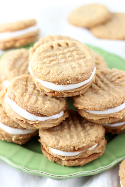 Fluffernutter Cookie Sandwiches Pic