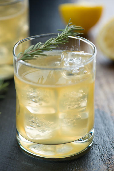 Bourbon Sour with Lemon & Rosemary Picture