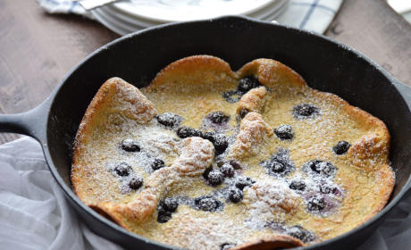 Gluten Free Blueberry Dutch Babies Recipe