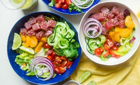 Tuna Ceviche Bowls Recipe