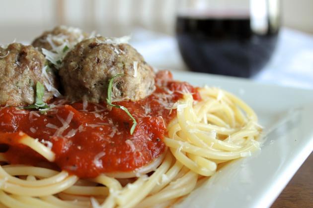Gluten Free Italian Meatballs Picture