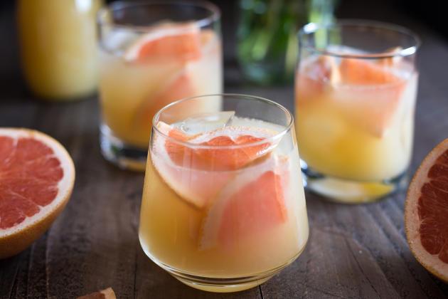 Bourbon Grapefruit Cocktail Photo