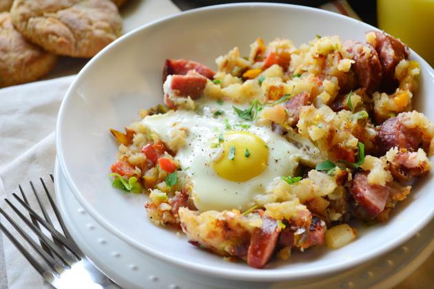 Kielbasa Breakfast Skillet Photo
