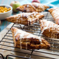 Rum Spiked Apple Turnovers Recipe