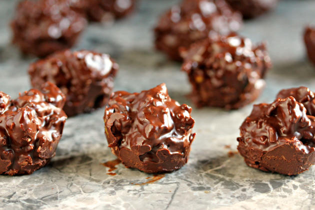 Chocolate Fruit & Nut Clusters
