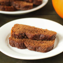 Gluten Free Pumpkin Bread Recipe