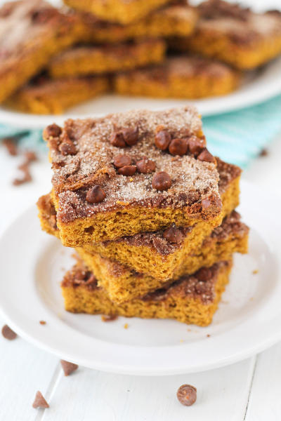 Pumpkin Snickerdoodle Snack Cake Pic