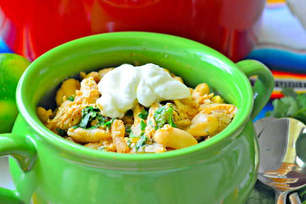 Quick White Bean Chicken Chili Image