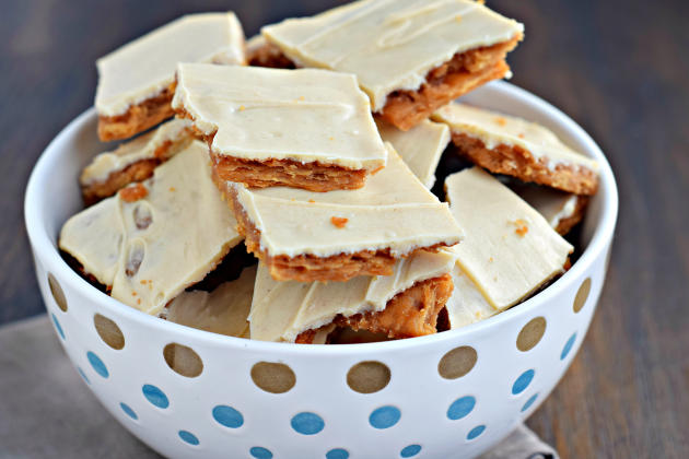 Peanut Butter Cracker Toffee Photo