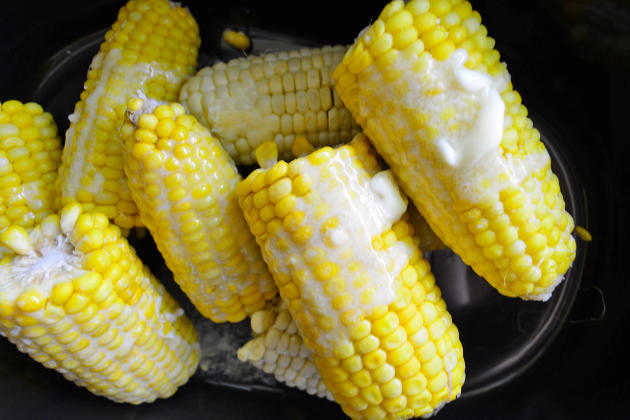 Slow Cooker Corn on the Cob Photo