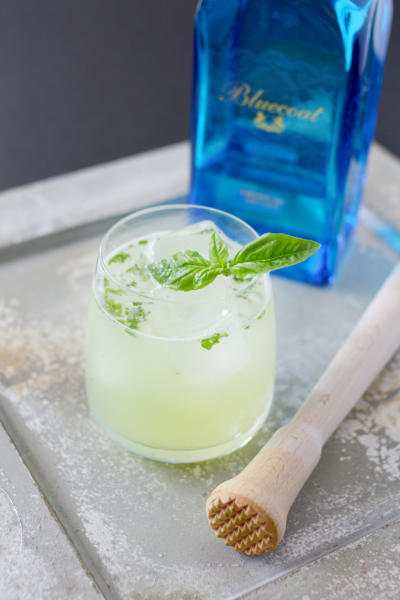 Basil Gin Smash Picture