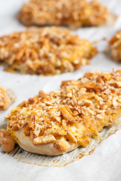 Gluten Free Pretzel Chicken Picture