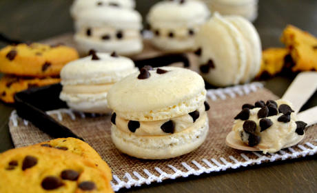 Cookie Dough Macarons Recipe