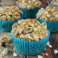 Blueberry Jicama Muffins Recipe
