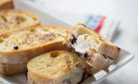 Cannoli Grilled Sandwich
