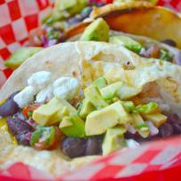 Huevos Rancheros Street Tacos Recipe